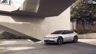 Forud for produktionsstart er det nu muligt at reservere en Kia EV6 online - prisen starter fra 324.900,- kr.