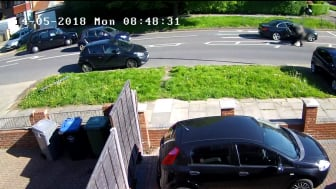 CCTV footage of shooting