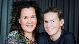 Marika Jonmar och Caroline Seblad