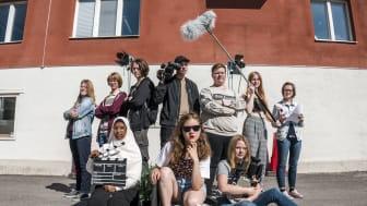 Årets sommarjobbare på Ung Film, foto Lia Jacobi