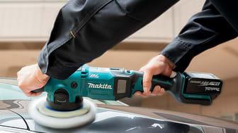Batteridriven polermaskin för både proffs och hobbybruk