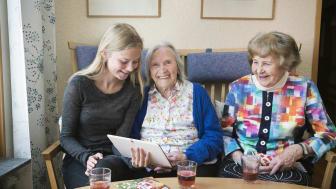 Nu startar Kulturarenan.se – kultur på nätet för personer i vårdmiljöer