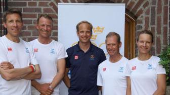 OS-laget i hoppning uttaget - bild
