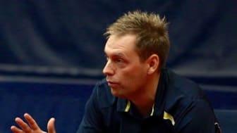 Daniel Ellermann i action som coach.