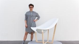 Lina Wilckens, 2017 års Michael Treschow-stipendiat
