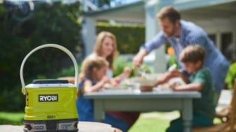 Portabelt myggskydd utan rök, lukt eller gas