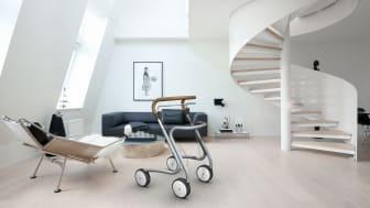 Preisgekrönt: Der Wohnraum-Rollator Scandinavian Butler (byACRE, Dänemark) wurde mit dem IF Design Award ausgezeichnet.