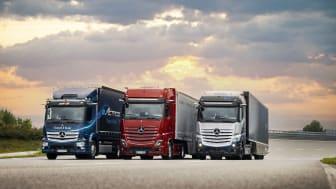 Mercedes-Benz Trucks går helt in för eldrift