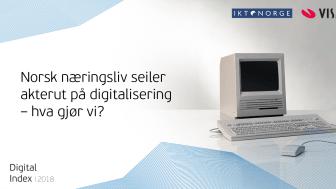 Visma og IKT-Norge arrangerer digitaliseringsdebatt torsdag 8. november