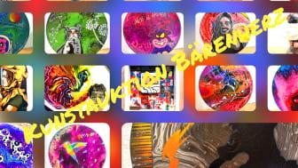 Werke, die in der Charity-Kunstauktion für Bärenherz unter den Hammer kamen