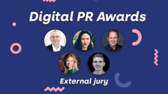 Juryn som utser vinnarna i Digital PR Awards