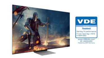 [Photo] Neo QLEDs Receive Industry First Gaming TV Performance Certification from VDE 4