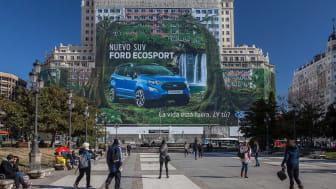 Ford Ecosport Billboard Madrid