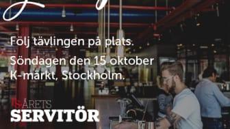 Följ tävlingen för matsalseliten på K-Märkt i Stockholm, söndag 15 oktober.