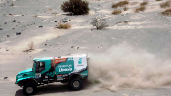 Iveco and De Rooy entered the final stretch of the Dakar with a wide lead