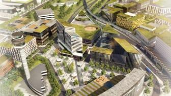 Swedavia etablerar SkyCity Office One inom Airport City Stockholm