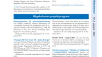 SVUs informationsblad Nr 2 augusti, 2011