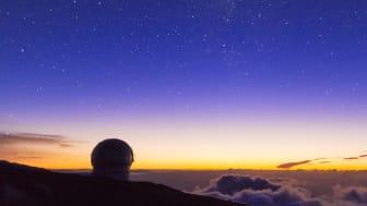 Observatoriet Roque de los Muchachos på La Palma är den ultimata platsen för stjärnskådning. Foto: Canary Islands Toruism.