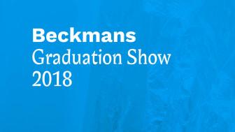 Beckmans examensmodevisning 2018