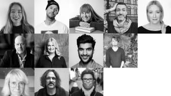 Jurymedlemmarna för Storytel Awards 2019.