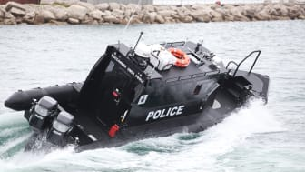 Dorset Police Marine Section's new patrol boat, Buccaneer