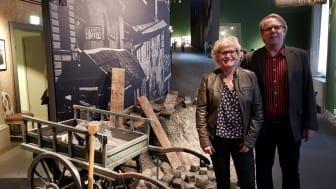 Birgitta Brändström och Bo Edlund från Forsen har jobbat med ekonomistyrning respektive installationsledning.
