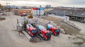 Unikt projekt med klimatförbättrad betong: Sänker CO2-utsläppen med 36 000 ton i landets  största projekt med lägre andel cement i betongen