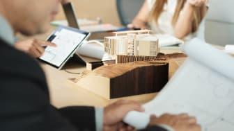 Konceptprojektering av studentbostäder i Borlänge har genomförts som en del av forskningsprojektet Timber on Top