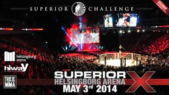 Superior Challenge X - Europas största MMA-gala