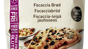 Glutenfri Foccaciabrød