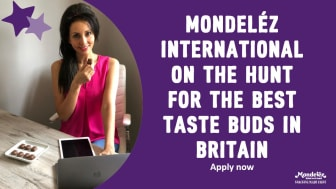 Mondeléz International on the Hunt for the Best Taste Buds in Britain