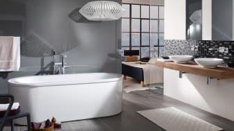 Mjuka och sköna badkar från Villeroy & Boch prisbelönade