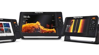 NYE Raymarine Element-sonar/GPS med ny ekkolodd teknologi, raskt prosessor og enkelt brukergrensesnitt