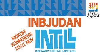 Inbjudan till press på Kickoff konferens för Gold of Laplands INTILL-projekt