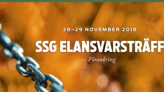 Välkommen till SSG Elansvarsträff 2018!
