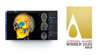 Planmeca Romexis® 6.0 Golden A' Design Award winner