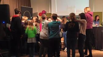 Kronoberg Skola slutade på andra plats i Vi i Femman