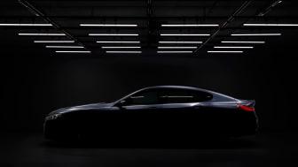 Forsmak på fire dører: Helt nye BMW 8-serie Gran Coupe nærmer seg
