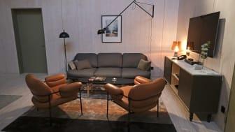 Rummens interiör är framtagen av Tengbom arkitekter. Foto: Sören Andersson