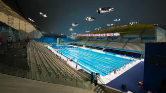 London Aquatics Centre- credit Lieven Coudenys
