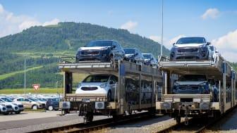 2,5 millioner biler og 3,8 millioner motorer har igennem de sidste 10 år forladt produktionslinjerne hos KIA Motors Slovakia i Žilina.