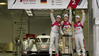 Vinnarteamet i Audi R18 TDI #2