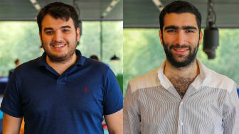 Flypes grundare Dani Daryaweesh och Yousif Touza.