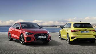 Ny generation af de sportslige Audi S3-modeller