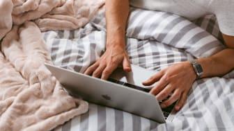 Nu kan KungSängens kunder få experthjälp med sitt sängköp direkt från det egna hemmet.