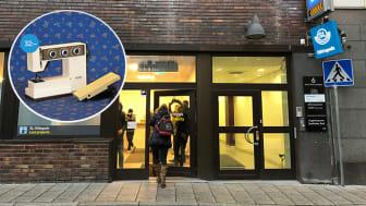 Popup-butik ska få fler att hitta till SL Hittegods