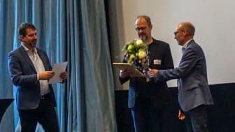SEKs medarbetare Joakim Grafström tilldelades Elsäkerhetspriset 2018