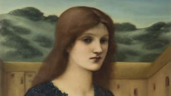 Edward Burne-Jones, Vespertina Quies, 1893, olja på duk, 107,9 x 62,2, © Tate, London 2019
