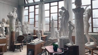 En av Stockholms dolda konstskatter – Carl Eldhs ateljémuseum