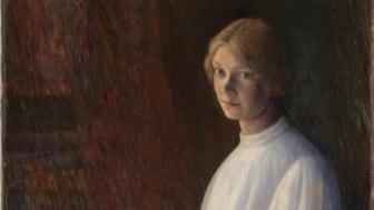 Kris Laache Torne, «Portrett av Lalla Hvalstad, 1895